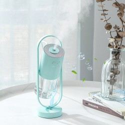 Air Ion Humidifier - 200ML - Ultrasonic - 7 Color Lights