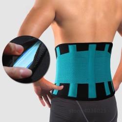 Back Brace - Waist Belt - Spine Support - Unisex - Breathable