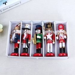 Nutcracker Soldier Doll - 1Pcs - Wooden - Christmas