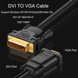 DVI to VGA - Cable Adapter