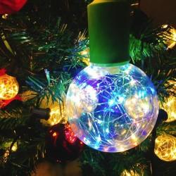 E27 1.7W - Led RGB lamp - dimbaar - Kerstdecoratie