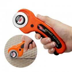 45 mm - outil de coupe rotatif cuir / tissu - lame circulaire
