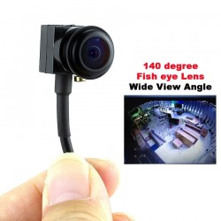 Analog camera - fish eye lens