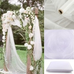 5m / 10m - decorative tulle - wedding chairs cover - roll fabric
