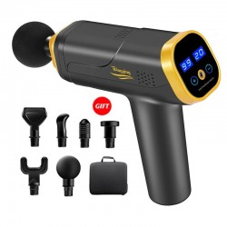 Massage gun - muscle relaxation - noise reduction - body massager