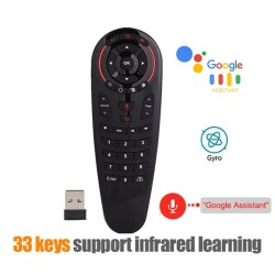 G30S - Voice Air Mouse - Slimme afstandsbediening voor Android TV Box X96