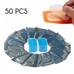 Hydrogel buikstickers - vervangende pleisters voor afslank- / massageriemen - 50 stuks