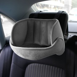 Kids adjustable headrest - neck support - car seat pillow