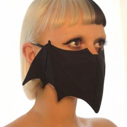 Mouth / face protective mask - reusable - washable - bat style