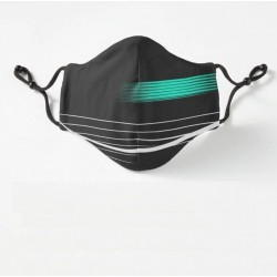 Protective face / mouth mask - PM.25 filters - reusable - formula racing