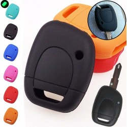 Silicone car key case cover - Renault - Clio - Kangoo - Master - Twingo - 1 button