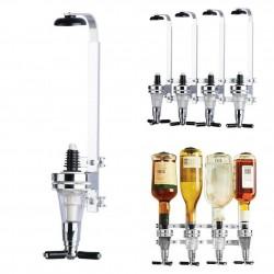 Wall mounted wine dispenser - 4 bottles - 25ml - 30ml - 45ml