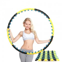 Dubbele rij magnetische hoelahoep - fitnessmassage - cardioapparatuur