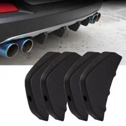 Universal - car rear bumper - spoiler - Audi car models - 4 pieces