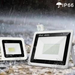 LED floodlight - PIR motion sensor - 10W - 20W - 30W - 50W - 100W - waterproof