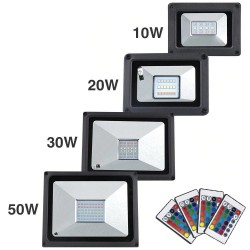LED flood light - 10W - 20W - 30W - 50W - waterproof IP65