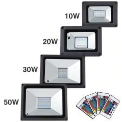 LED flood light - outdoor reflector - waterproof - 20W - 30W - 50W