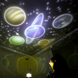 LED starry sky projector - night light - rotatable - Earth - Constellation - Universe