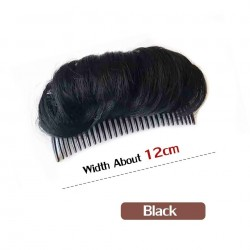 Synthetic hair - invisible bangs - with comb