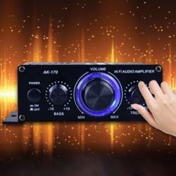400W - DC12V - HiFi-eindversterker - autoradio muziekontvanger - FM-radio - MP3