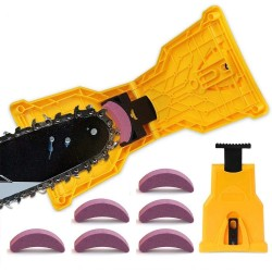 Chainsaw sharpener set - with grinding stones - fast grinding