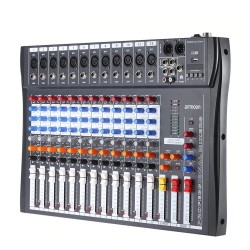 120S-USB - 12 kanalen - audiomixer - mengtafel - 48V fantoomvoeding
