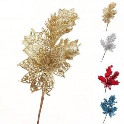 Glittertakje - een hangend kerstboomornament