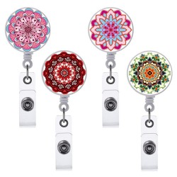 Retractable badge holder - for ID card - pass - name card