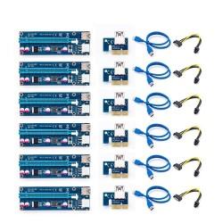 PCI-E riser card 006C - bitcoin miner - 1x to 16x - USB 3.0