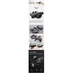 ZLRC SG701-S - GPS - 5G - WIFI - FPV - Dual 4K - RC Quadcopter Drone - RTF