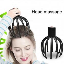 Elektrische hoofdhuidmassageapparaat - octopus-klauwvorm - therapeutisch - stressvermindering