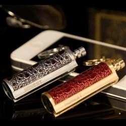 Vintage metal lighter - with keyring