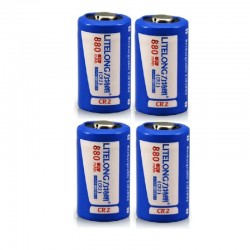 Cr2 880mah lithium battery - rechargeable - LiFePO4 - 4 - 12 pieces