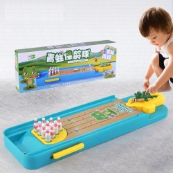 Mini bowling game - educational toy