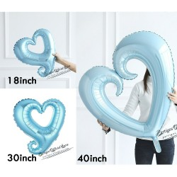 Heart shaped balloon -...