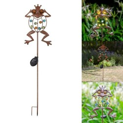 Frog shaped garden lamp -...