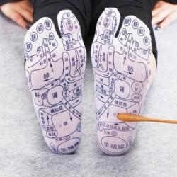 Acupressure foot socks -...