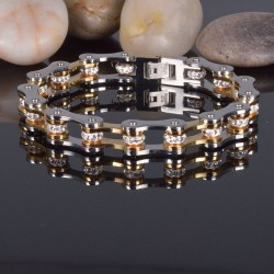 Bicycle chain bracelet -...
