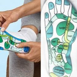 Acupressuur sokken - fysiotherapie massage - pijnbestrijding