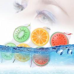 Gel-oogmasker - kompres - vermoeidheid / verwijdering van oogzakken - vruchtvorm
