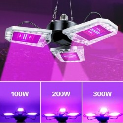 LED plant kweeklamp - volledig spectrum - waterdicht - E27 / E26 - 40W - 60W - 80W - 100W - 200W - 300W