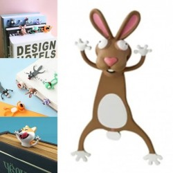 Animal shaped 3D bookmarks...