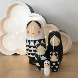 Wooden Russian dolls - 5...