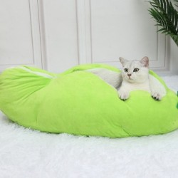 Pea pod shaped bed - for...