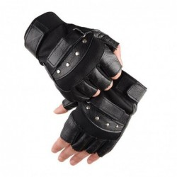 Military leather gloves  -...