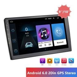 "9/10 ""autoradio - Android / 2 Din - GPS - Bluetooth - WIFI - Mirrorlink - MP5"
