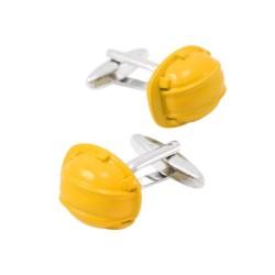 Novelty cufflinks - yellow...
