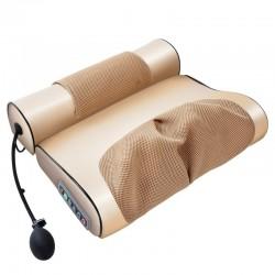 Elektrisch massagekussen - cervicale / tractie-stimulator - voor nek / onderrug - pijnverlichting