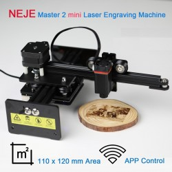NEJE Master 2 - mini laser engraving machine - for wood - wireless - APP control