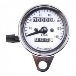 Dual motorcycle speedometer - LED - 12V